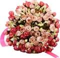 Свадебный Букет Свадебный Цветок Розы Ручной Работы Мода Элегантные невесты свадебный букет