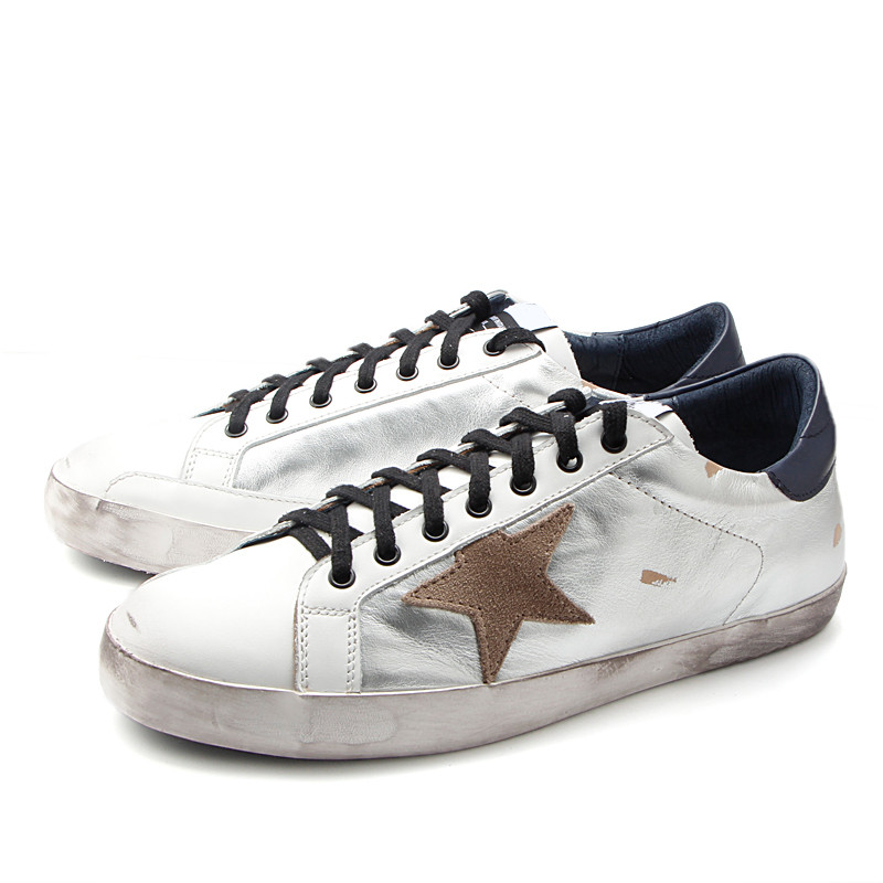 41177c8b8d04c 2018 brand italy golden genuine leather casual women trainers goose star  breathe slipony shoes footwear zapatillas