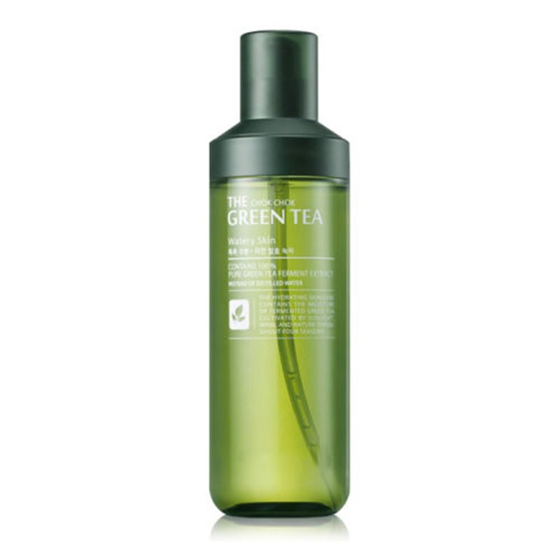 Best Korea Cosmetics The Chok Chok Green Tea Watery Skin 180ml Skin Care Lifting Face Toner Moisturizing Anti-wrinkle Anti Aging