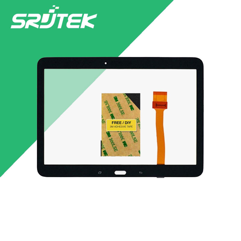 High Quality Touch Screen For Samsung Galaxy Tab 4 10.1 t530 t531 t535 Tablet Pc Digitizer Glass Sensor Repairment Parts touch screen digitizer glass lens with tape for samsung galaxy tab 4 10 1 t530 t531 with tools free dhl