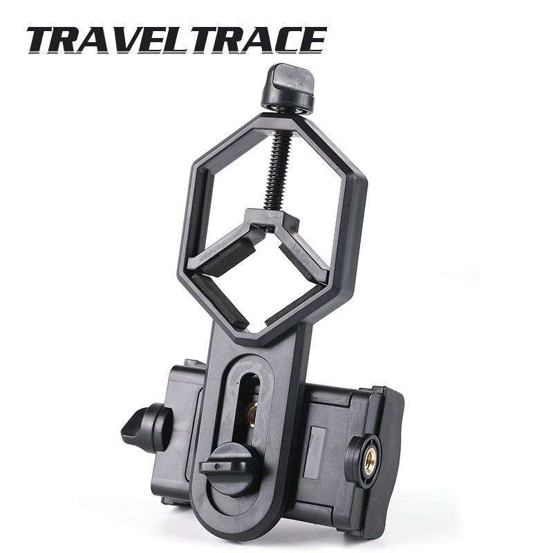 Universal Bracket for Mobilephone Adapter Clip Monocular Accessories Smartphone Telescope Accessory Stents High Quality Frame(China)