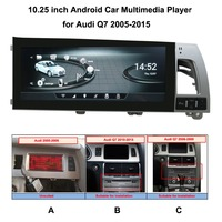 10,25 дюйма мультимедиа для Android плеер для Audi Q7 2005 2015 Авто gps заводской Панель дизайн