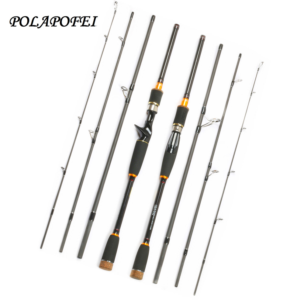 2 1m 2 7m lure fishing rod carbon spinning casting pole for Spinning fishing rods