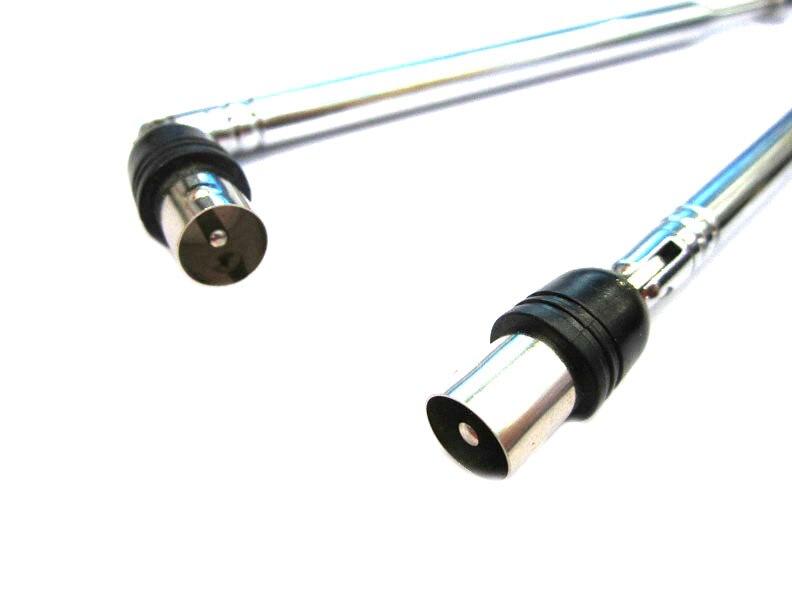 imágenes para Dvb-t antena IEC antena Telescópica antena Portátil Escáner de Radio VHF UHF