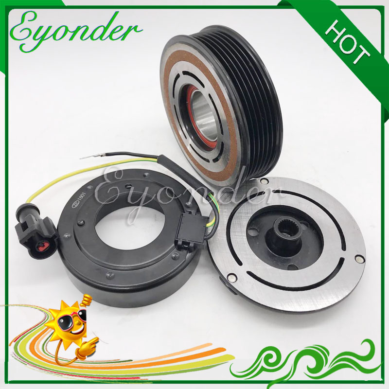AC Air Conditoning Compressor Electromagnetic Magnetic Clutch for LAND ROVER RANGE ROVER JPB500211 JPB500210 LR012799 JPB