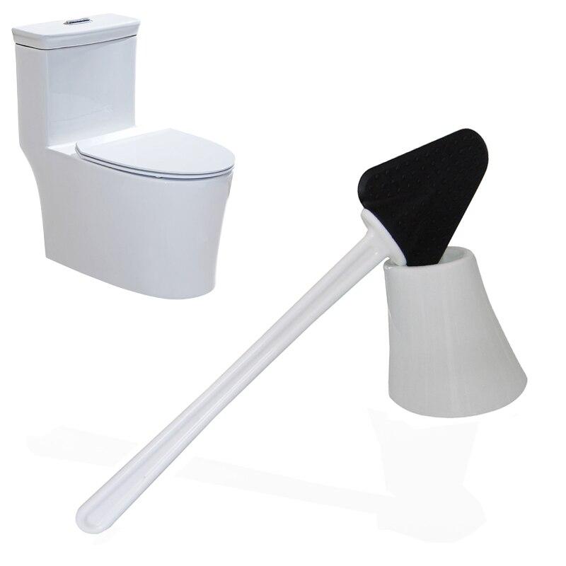 HHYUKIMI Gummi Bad Wc-bürste Küche Reinigungsbürste/Wc speer reinigungswerkzeuge/Kreative Gummi toilette sauber kratzen