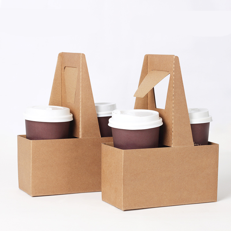 Aliexpresscom Buy Take Out Kraft Paper Cup Holder Clip