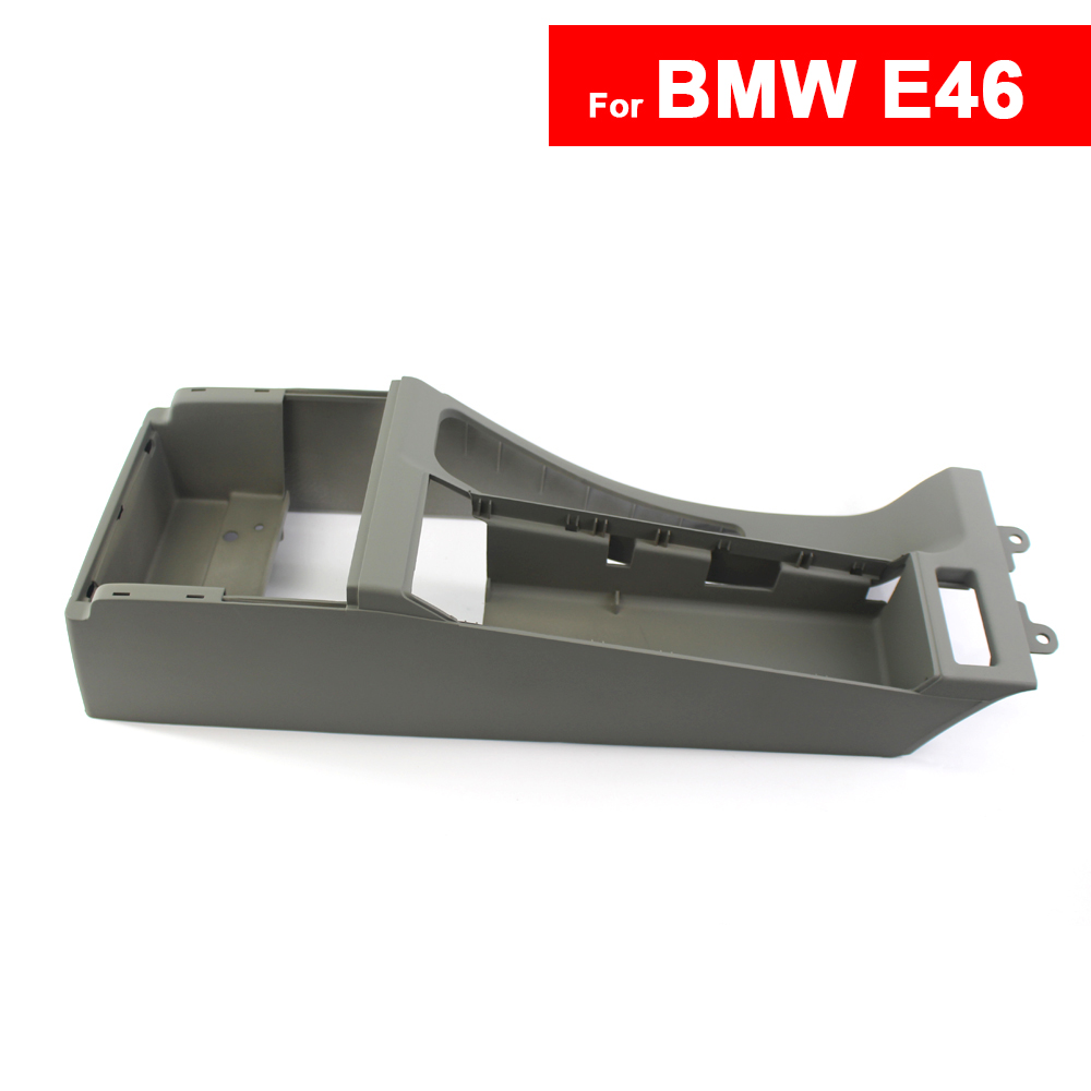 Car Center Bracket For BMW E46 Auto Center Console Trim Base Shwartz LHD 51168217942  51168213680 Free Shipping