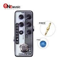 Mooer Micro цифровой предусилитель 007 Regal тон Высокое качество двухканальный предусилитель с 3 х полосный гитара с эквалайзером инвертор варщик а