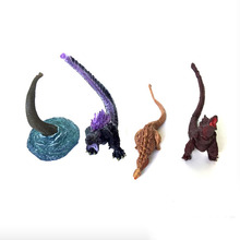 4pcs/set Gojira Toys NECA Pacific Rim Action Figure World Dinosaur Collectible Model Toy for Kids Boys цена