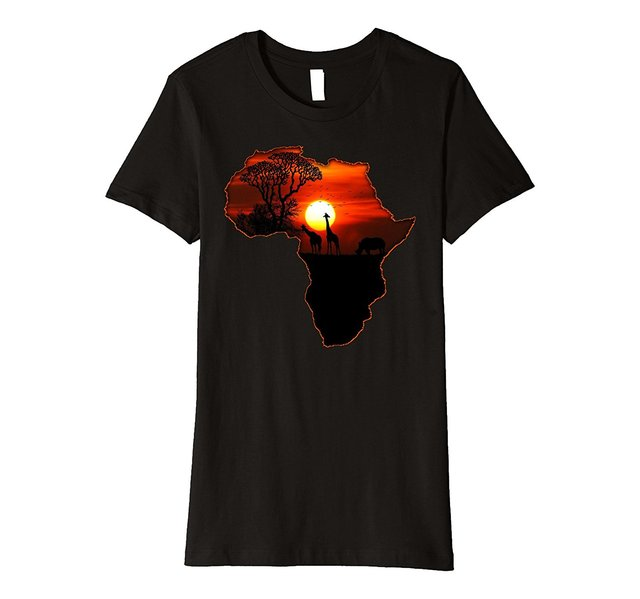 africa t shirt map of africa south african big five safari sale
