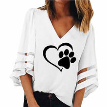 Paw Shirt With Cutouts