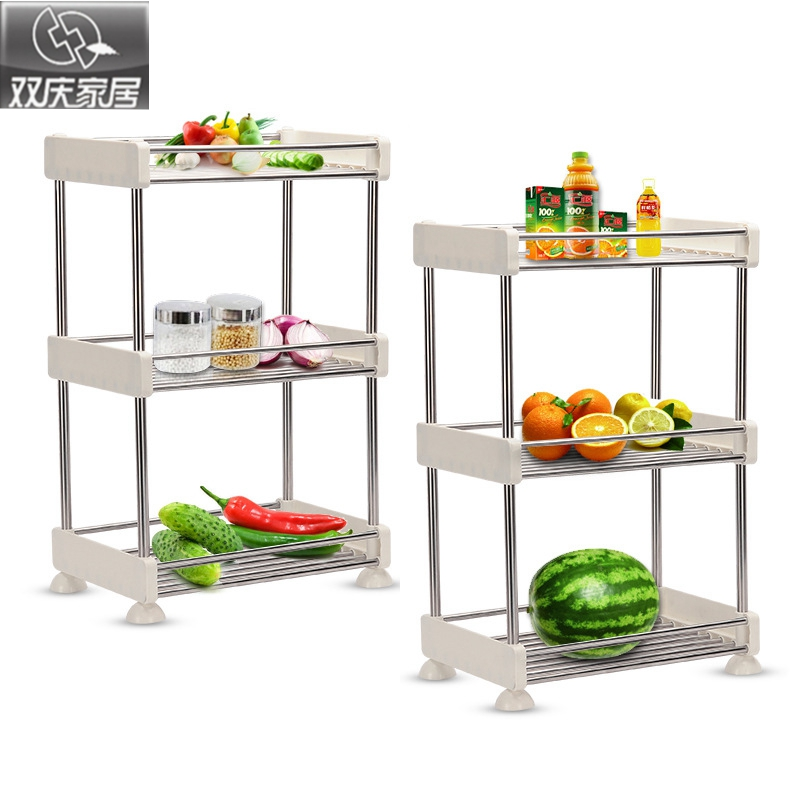 bathroom shevles high quality plastic foldable kitchen storage rack removable fashion sundries space organizer