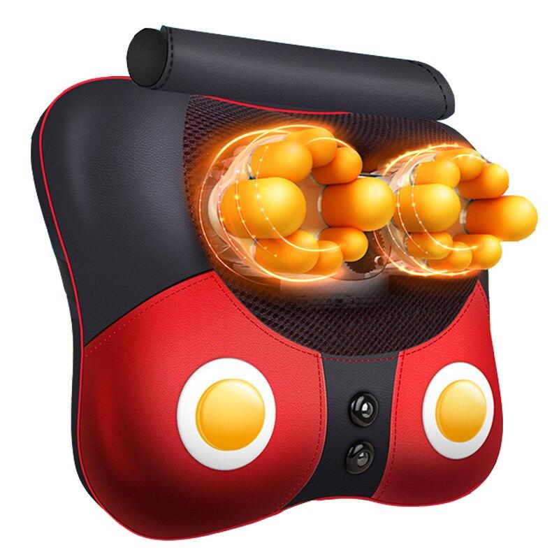 Almofada de Massagem Dispositivo Doméstico Multifuncional Corporal Frete