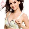 Alta-qualidade de mama-alimentação seios sem anel de aço as mulheres grávidas underwear bra mama sutiã sono maternidade maternidade B C