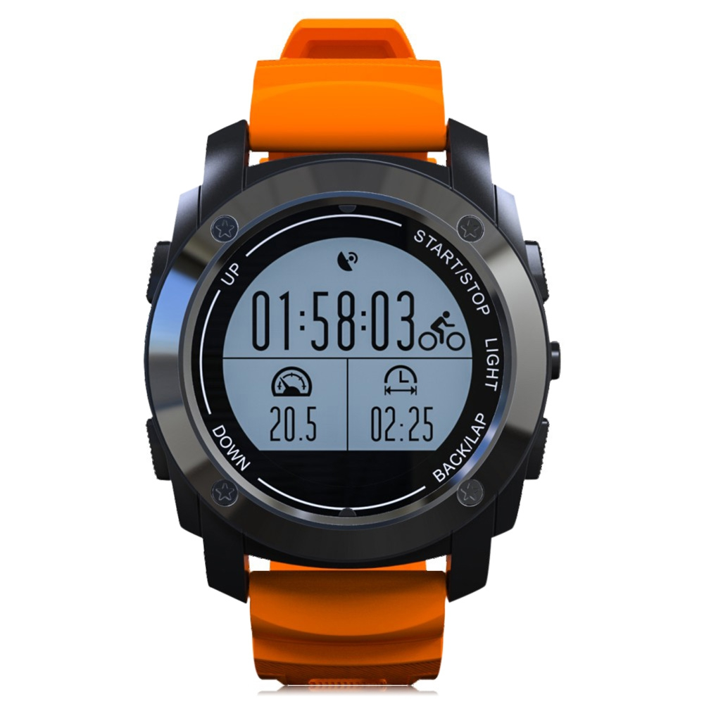 S928 Real-time Heart Rate Monitor GPS Smart Watch Phone Pressure Speed Fitness Tracker Smartwatch Running Outdoor Sports Watch pedometer heart rate monitor calories counter led digital sports watch fitness for men women outdoor military wristwatches