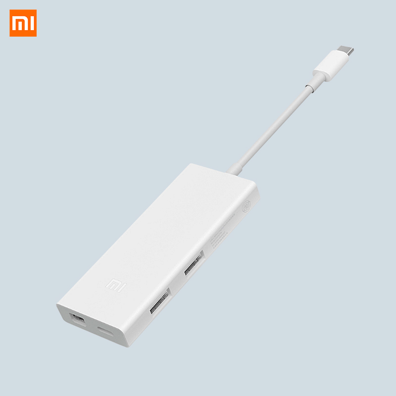 Type C Xiaomi USB-C to Mini DisplayPort Multi-function Adapter 4K HD Smart Charge For Macb