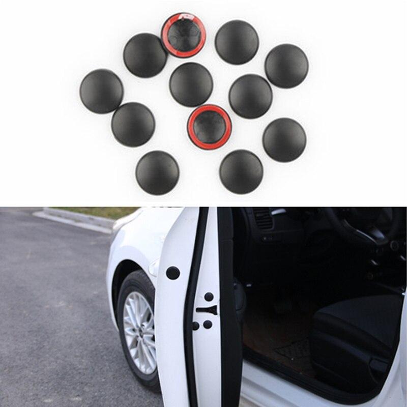 12pcs Car Door Lock Screw Protector Cover For Ford Focus Kuga Fiesta Ecosport Mondeo Escape Explorer Edge Mustang Fusion Flex
