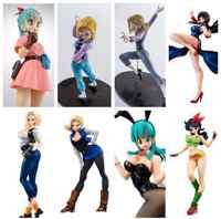 Dragon Ball Z Bulma 18 Chichi Lunch Android 18 Lazuli Anime Cartoon Action Figure PVC toys Collection figures for friends gifts
