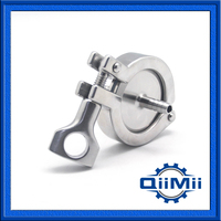 SS304 Or SS316L 1 Hose Barb Clamp Set Stainless Steel