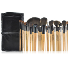 32pcs Natural color Make Up Brush Set Professional Cosmetic Tool Sets makeup Brushes kit for you wood powder kit