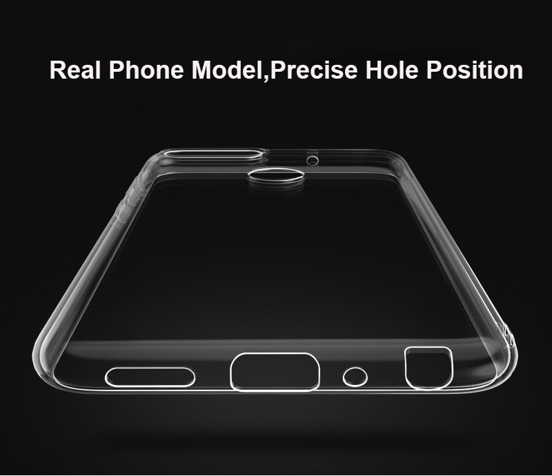 ultra thin transparent soft silicone tpu case for huawei honor 7a pro y9 2018 p smart 06