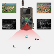 Cheapest prices 2017 Wildlife Digital Hunting Scouting Trail Camera Photo-Traps Security Cam GSM MMS GPRS Hunting Camera HC300M