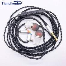 Nieuwste mmcx IE800 Oordopjes HiFi In Ear Keramische Oortelefoon Oordopjes Oordopjes Wth MicTop Kwaliteit Headset kabel Voor shure SE215