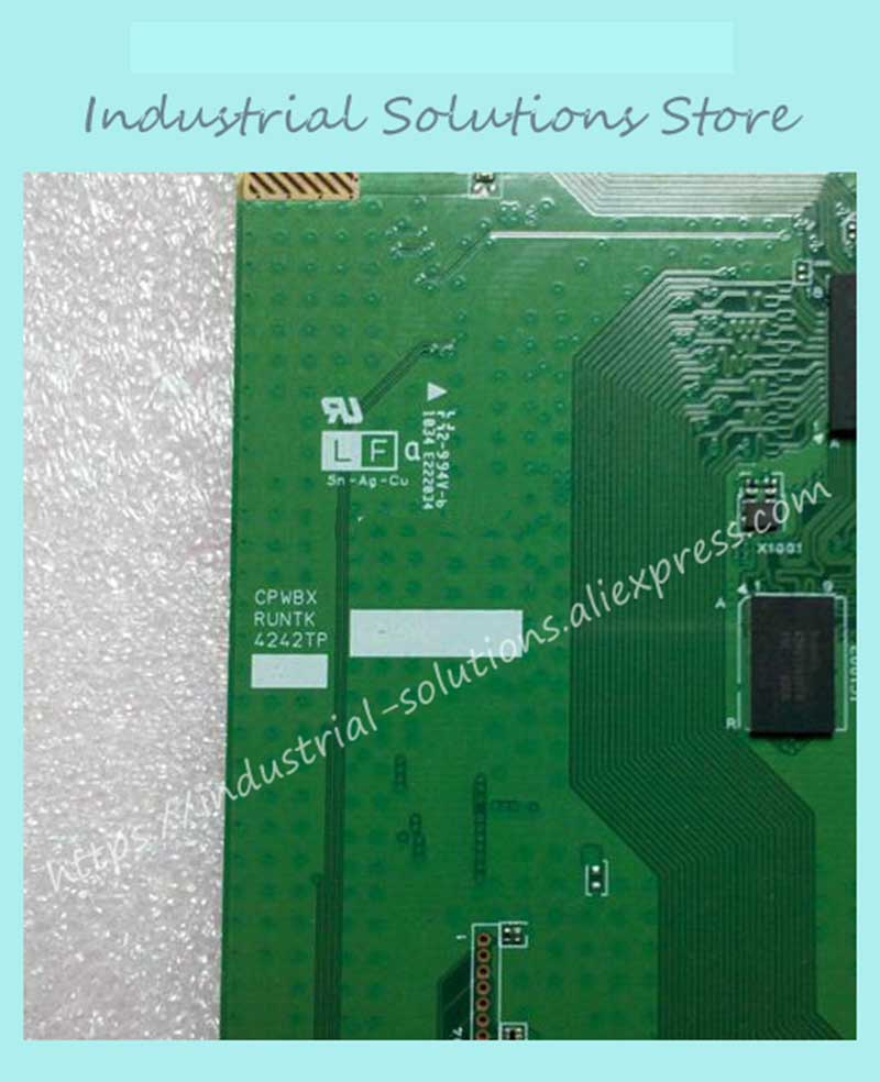 Logic board CPWBX RUNTK 4242TP 90% New угольник sola vstg