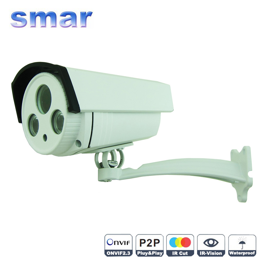 New CCTV IP Camera Outdoor 1.3MP 2MP Onvif P2P HD Bullet Camera 1080P Built-in 2.8-12MM Auto Zoom Lens Free Bracket cctv camera housing aluminum alloy for bullet box camera with bracket for extreme cold or warm outdoor built in heater and fan