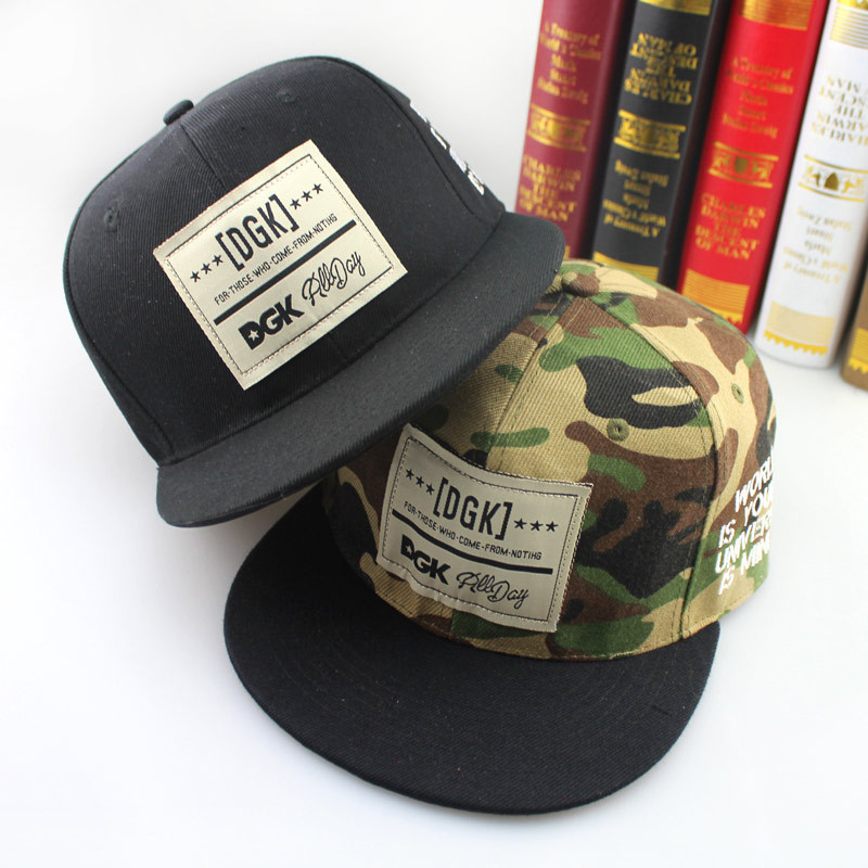 New Brand DGK Logo Snapback Caps Fashion Baseball Cap hip hop cap hats Gorras Planas Flat-brimmend Casquette Bone Swag