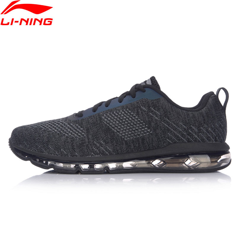 Li-Ning AIR WALKER Men Walking Shoes Breathable Fitness Cushion LiNing Heritage Sneakers The Trend Sports Shoes AGCM097 YXB050 original li ning men professional basketball shoes