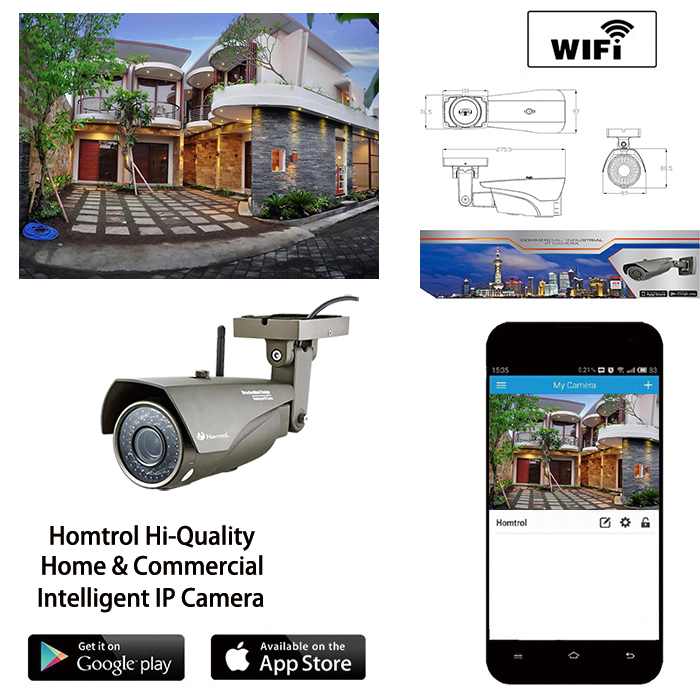 2.8mm 2 Mega Pixel Lens Wifi Smart Home Security Outdoor IP Camera support 128GB TF card slot IR Night Vision IP 67 Waterproof spacetechnology st 171 ip home версия 2 2 8 mm аудио вход