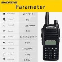 baofeng uv (1pcs) טוקי Baofeng UV-82 Dual-Band 136-174 / 400-520 MHz FM Ham שני הדרך Baofeng כוח העל רדיו משדר uv82 (5)