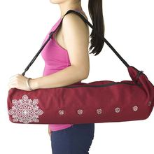 eb30523ef9d1 Large Yoga Mat Bag Fits Most Large Yoga Mats 3 Storage Pockets Easy Access  Zipper Dual