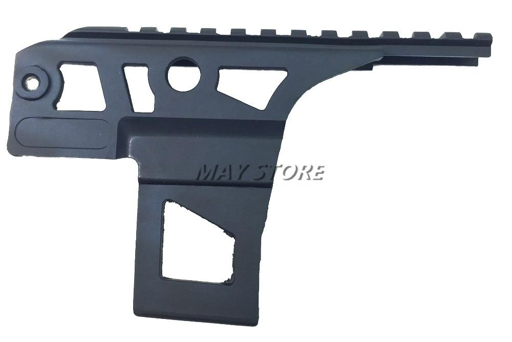 Ak 47 Ris Rail Side Front Top Scope Flashlight Laser Dot