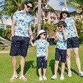 Teenager Mädchen Mutter Tochter T Hemd Camouflage 2019 Sommer Baumwolle kurzarm Familie T shirts Pyjamas Vater und Sohn Kleidung-in Passende Familienoutfits aus Mutter und Kind bei