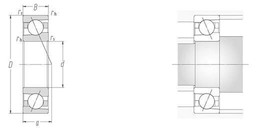 H7005C Сул P4, H7005C-2RZ C3 радиально-упорный подшипник(25x47x12 мм) Высокая Скорость TMP подшипники шпинделя Сделано в Китае
