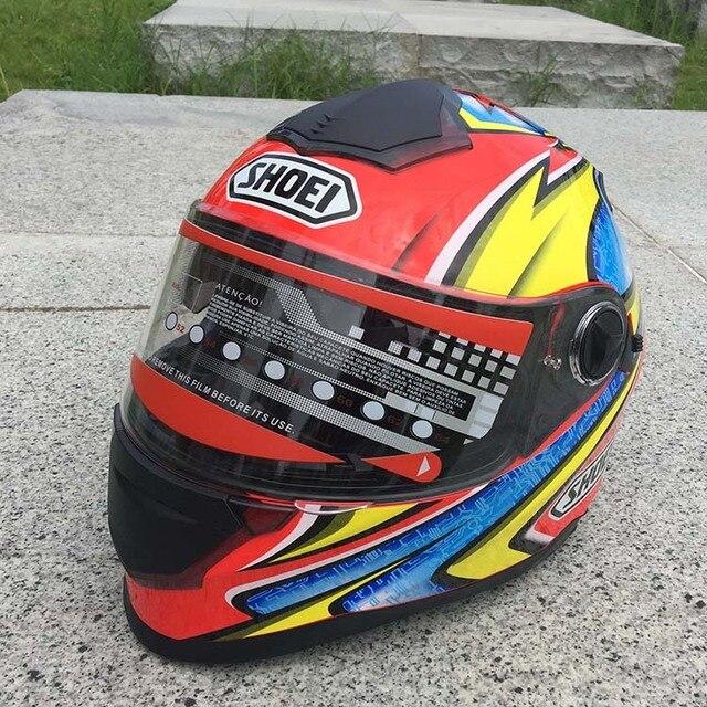 2016 SHOEI dual lens motocross helmet ATV crossmotor Casco Capacetes motorcycle helmet moto off road racing helmets