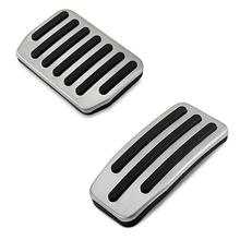 Alloy Foot Pedal Covers Non Slip Accelerator Brake Replacement Car Foot Pads For Tesla Model 3 цена и фото
