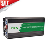 DHL Or Fedex free shipping Free Shipping!!invertor dc 12v ac 220v 1500w, inverter 1500w pure sine wave Top Quality