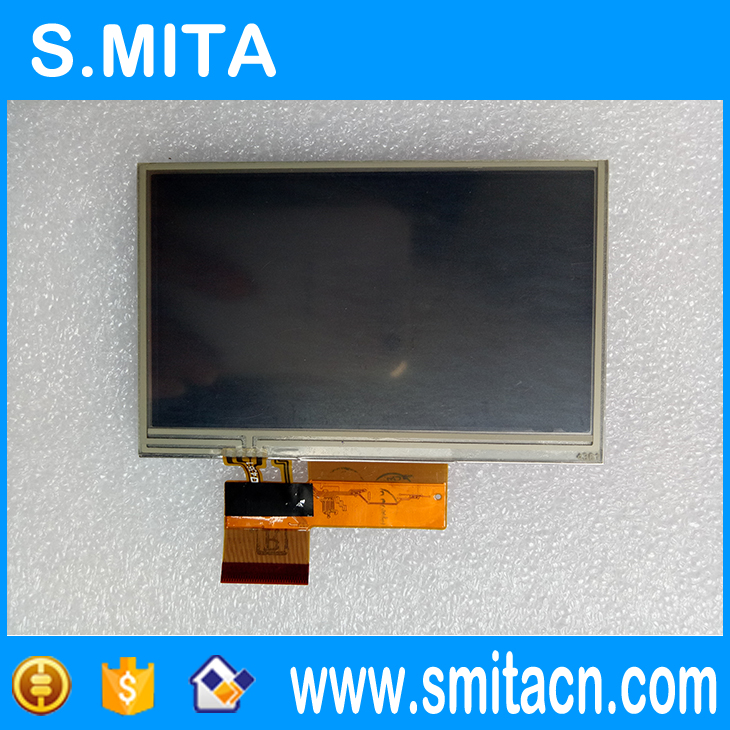 4.3'' inch LQ043T1DH01 TFT LCD screen display with touch screen digitizer For Garmin Nuvi 1370 1370T 1390 1690 1690T 7 inch for asus me173x me173 lcd display touch screen with digitizer assembly complete free shipping