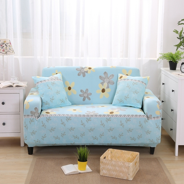 Cool Floral Design L Shaped Sofa Slip Covers/reclining Sofa Cover/slipcover  For Sofas