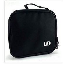 TOP UD Tools Kit Bag Zipper Carrying Case Double Deck Pocket DIY For Packing Electronic Cigarette Accessories XSE-4