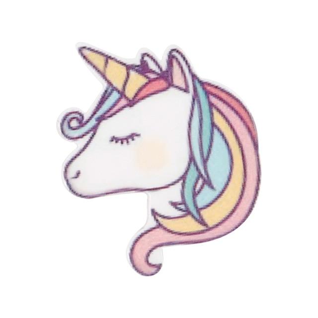 10pcs/lot Personalized Resin Hornhorse Cute Cartoon DIY Accessories For Refrigerator Home Decoration Handmade Crafts 4