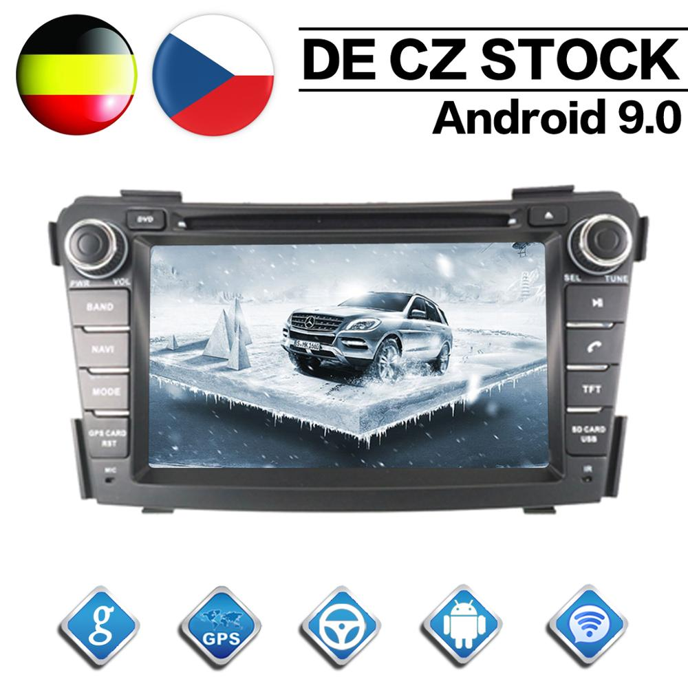Octa Core 2 Din Stereo Android 9 0 Car Radio for HYUNDAI I40 2011 2012 2013