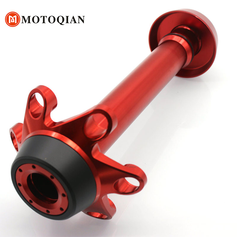 Rear Axle Guard Accessories For Ducati 1199 1299 Panigale Motorcycle Fork Crash Frame Sliders Wheel Protector Motorbike Parts