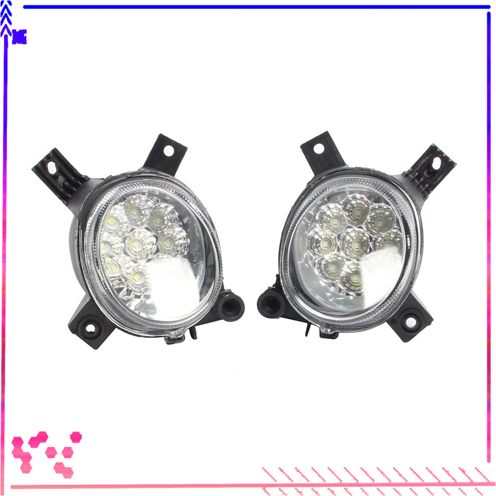 Left Right Front Bumper Lower LED Fog Light Lamp For AUDI A4 B7 A3 S Line