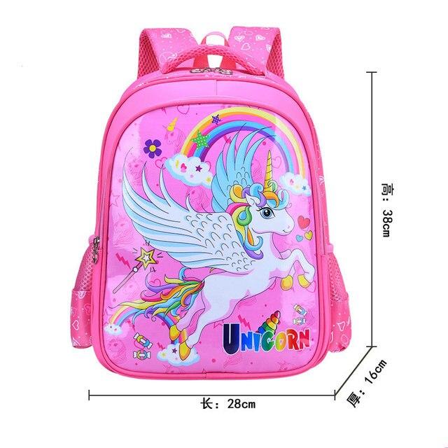 45aac3dea2f1 Cute Cartoon Unicorn Schoolbag For Boys Children School Bag For Teenager  Girl Orthopedic Princess Backpack Mochila