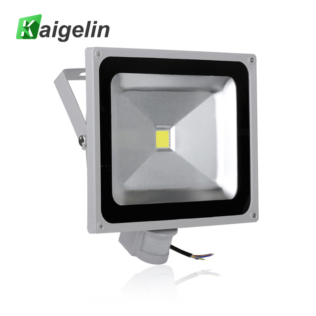 Aliexpress buy led sensor flood light 50w 4500lm ip65 led sensor flood light 50w 4500lm ip65 projector refletor led floodlight projector spotlight outdoor lighting lamp workwithnaturefo